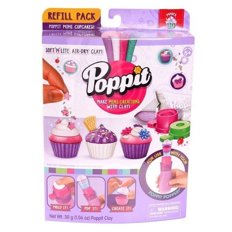 Poppitworld Poppit Mini Cupcakes Refill Pack 174133