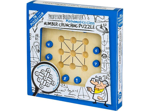 Professor Puzzle Number Crunching Puzzle 14160
