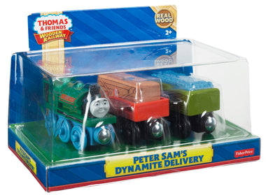 Thomas and Friends T&F Wr Multi Peter Sam Dynamite Delivery y4103-0