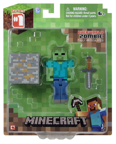 Minecraft Zombie with Accessory 16509hw