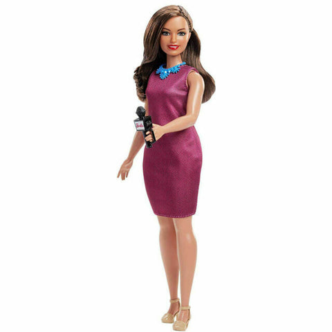 Barbie 60th Anniversary Doll - News Anchor