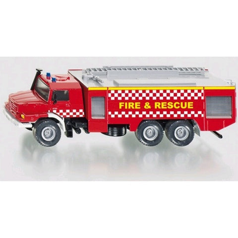 Siku Mercedes Zetros Fire Engine - Fire Rescue sku2109gb