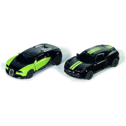 Black & Green Limited Edition 2-piece Car Set