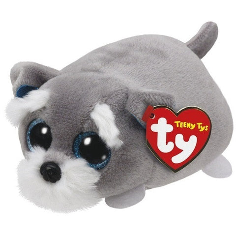 TY Beanie TY Teeny Jack Grey Dog 42164