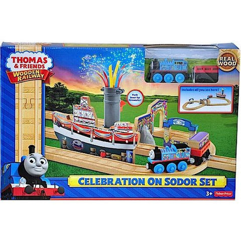 Thomas and Friends Celebration On Sodor Set cdk47