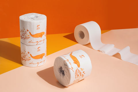 Pure Planet Clubs Bamboo Toilet Paper Dugong Wrapper
