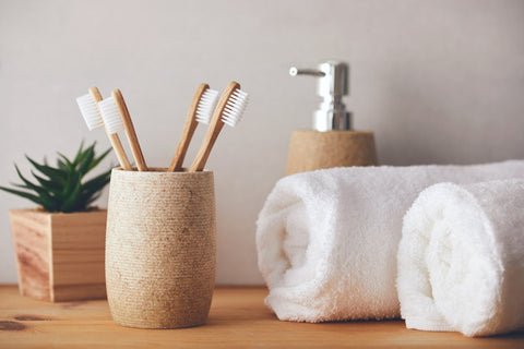 ecofriendly bamboo toothbrushes