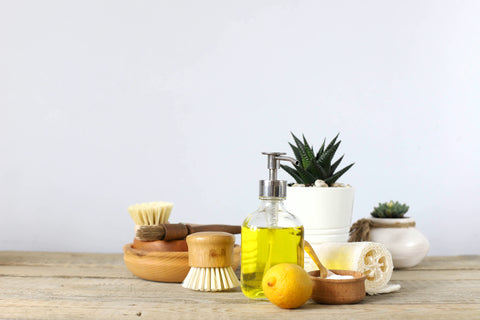 Ingredients to make home made cleaning products
