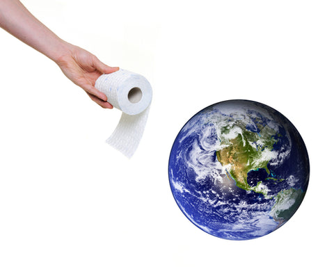 toilet tissue and the earth