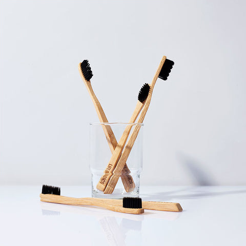 Life Basics Bamboo and charcoal toothbrush