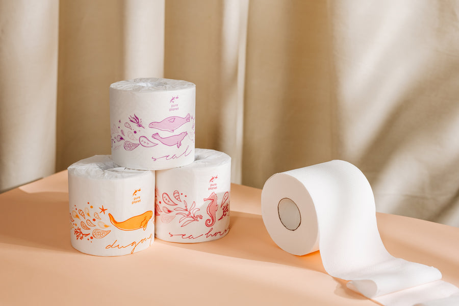 Double Length 3 Ply Tree-Free Rolls (36 Rolls) img 3