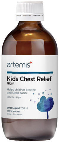ARTEMIS Kids Chest Rel. Night 200ml
