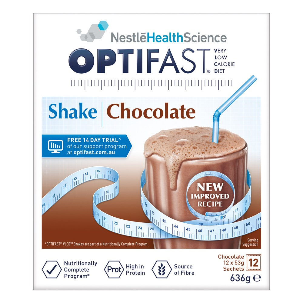 OPTIFAST VLCD Shake Choc. 12x53g