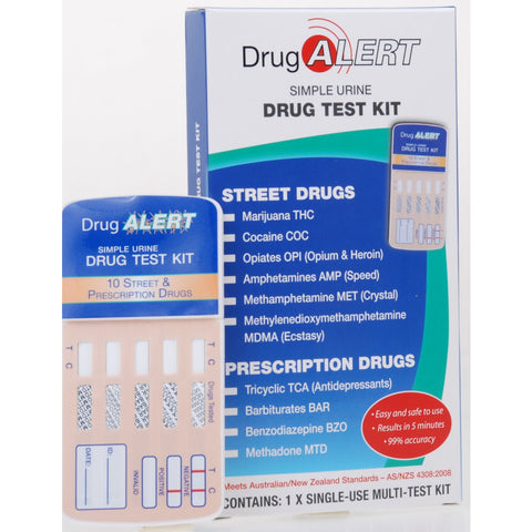 DRUG ALERT Multi Drug Test Kit Sngl