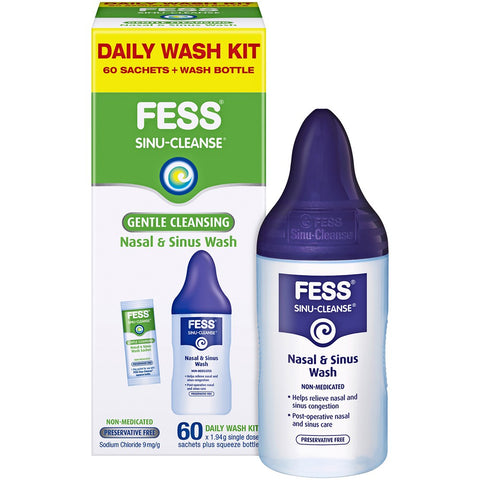 FESS Sinu Cleanse Daily Wash Kit 60