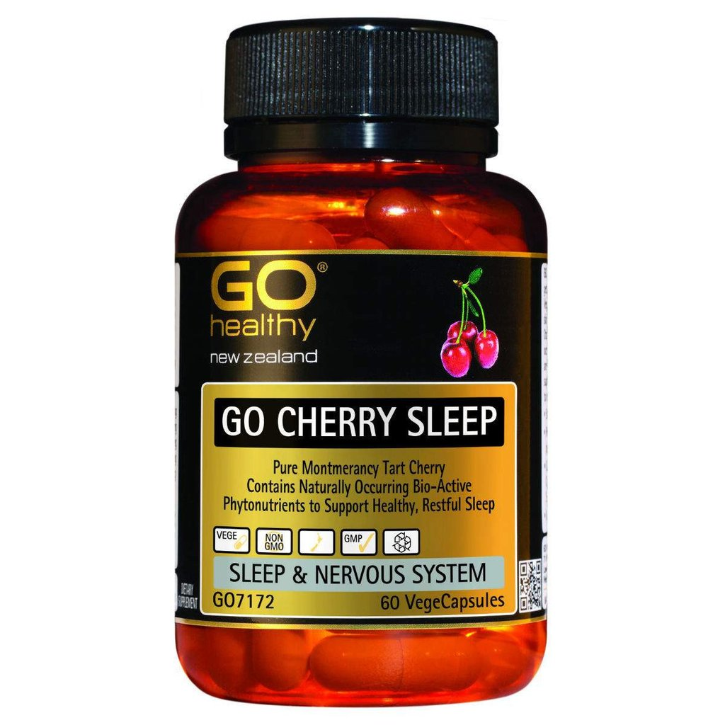 GO Cherry Sleep 60vcaps