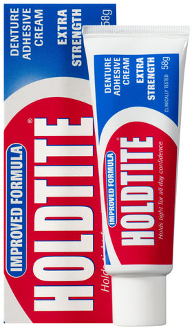 HOLDTITE Denture Hold Cream 60g