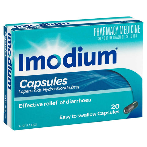 IMODIUM 2mg 20caps