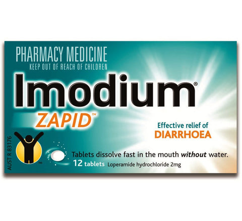 IMODIUM Zapid 2mg 12tabs