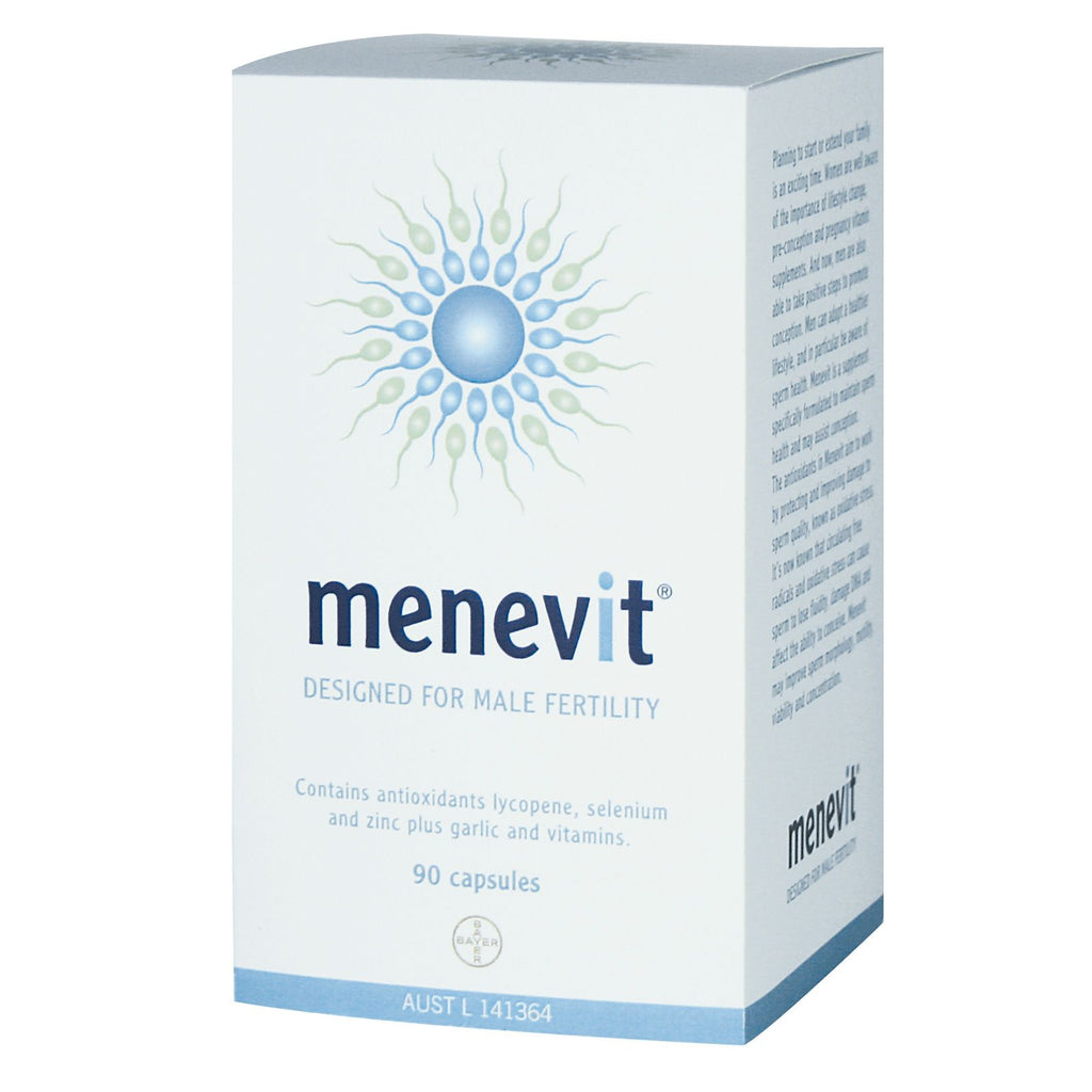 MENEVIT Male Fertility Supp. 90caps