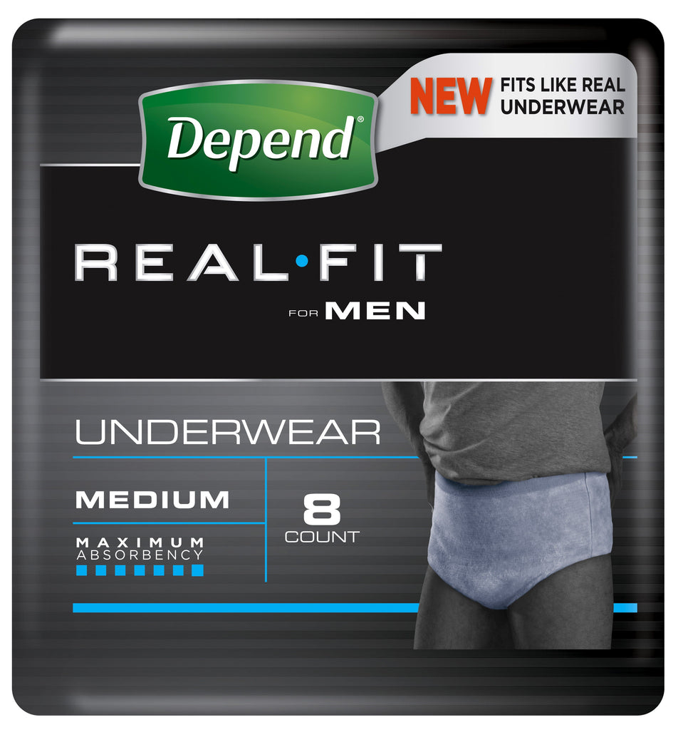 DEPEND Realfit Men Large 8