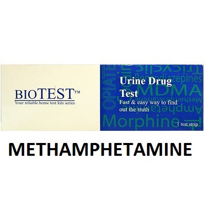 BIO TEST Methamphetamine Drug Test