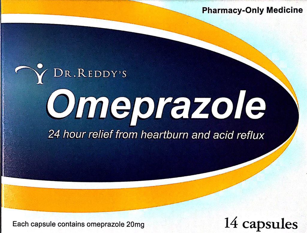 Dr Reddy Omeprazole 20mg 14 Caps