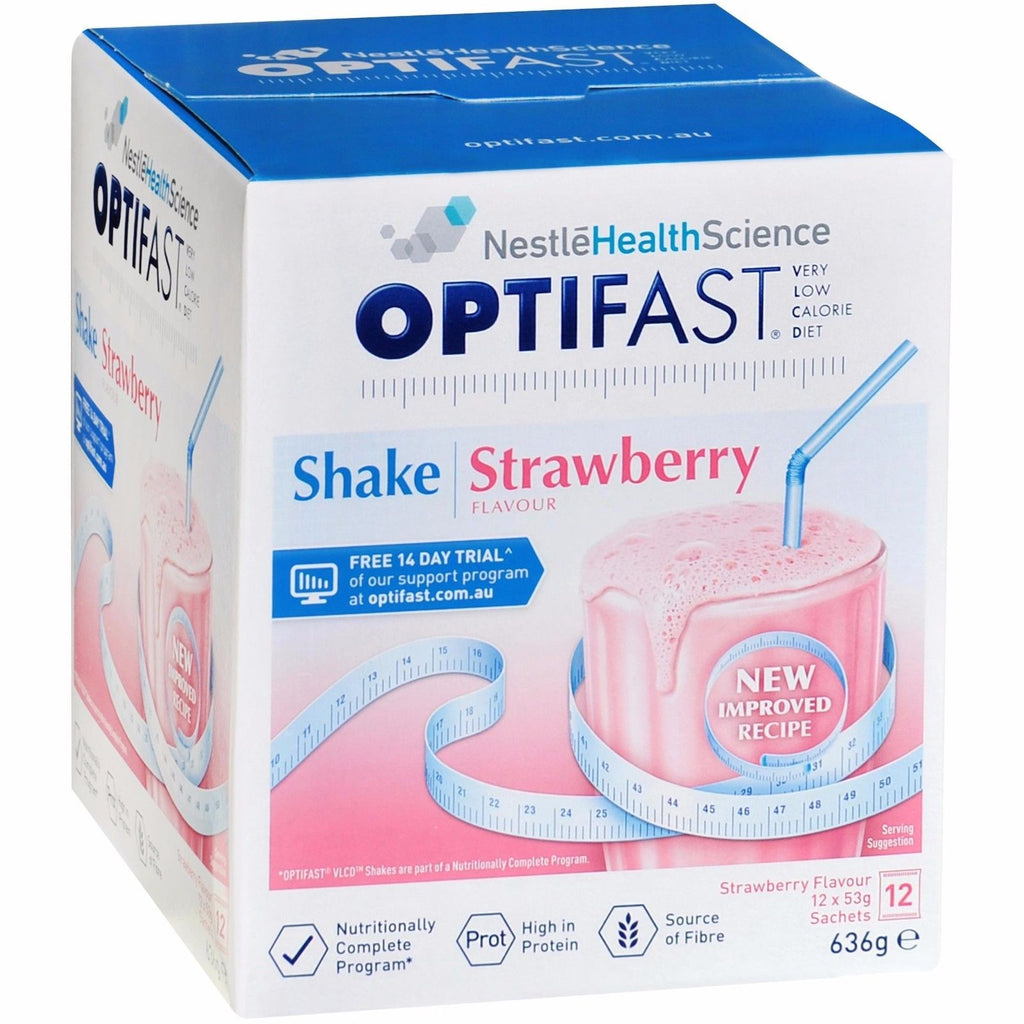 OPTIFAST VLCD Shake S/berry 12x53g