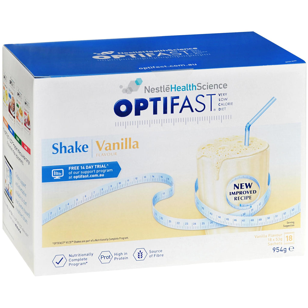 OPTIFAST VLCD Shake Vanilla 18x53g