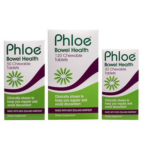 PHLOE Bowel Health Chewable 120tabs