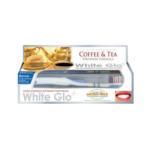 White Glo Coffee & Tea T/P 150g