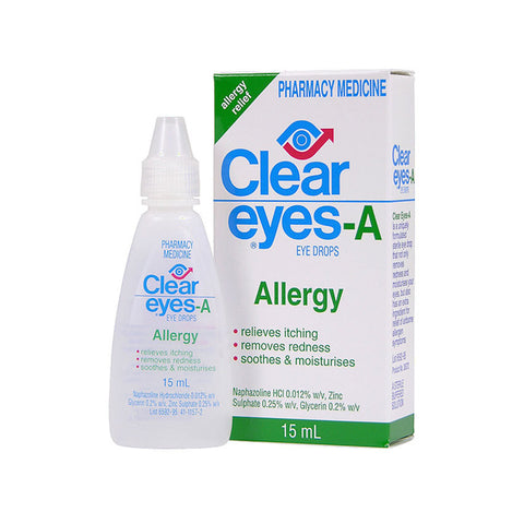 CLEAR EYES Allergy Drrops 15ml