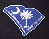 South Carolina patch (state motto) PVC