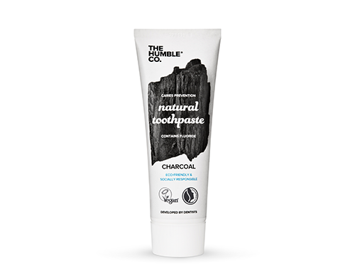 Humble - Toothpaste <- Natural and Charcoal