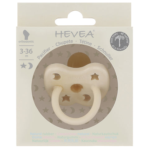 Natural rubber pacifier - COLOUR 3-36