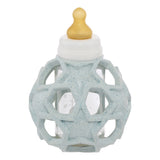 2 in 1 Glass Baby Bottle with Star Ball - Upcycled collection (3 colour options)