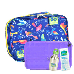Go Green Tweety SET - Purple Food Box