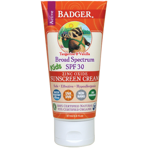 Badger Kids Sunscreen SPF 30