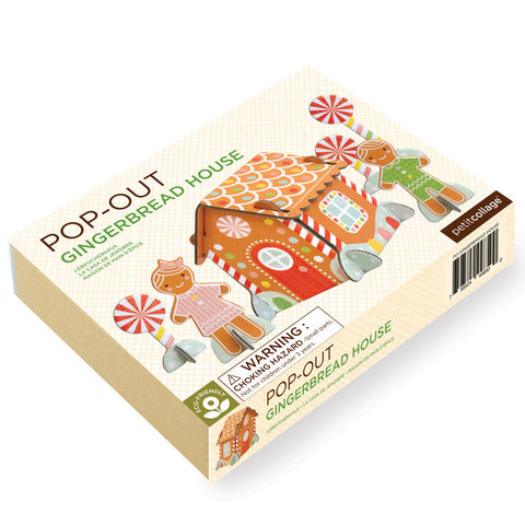 Gingerbread House Pop Outs
