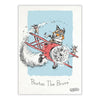 Art Print - Burton the Brave Flying