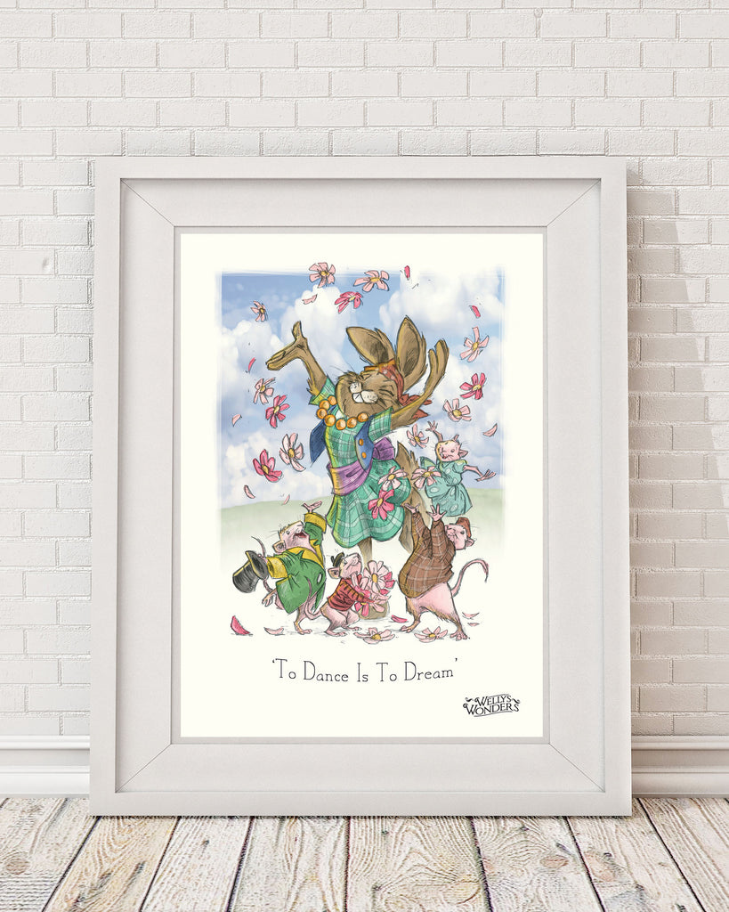 'To Dance Is To Dream' Print