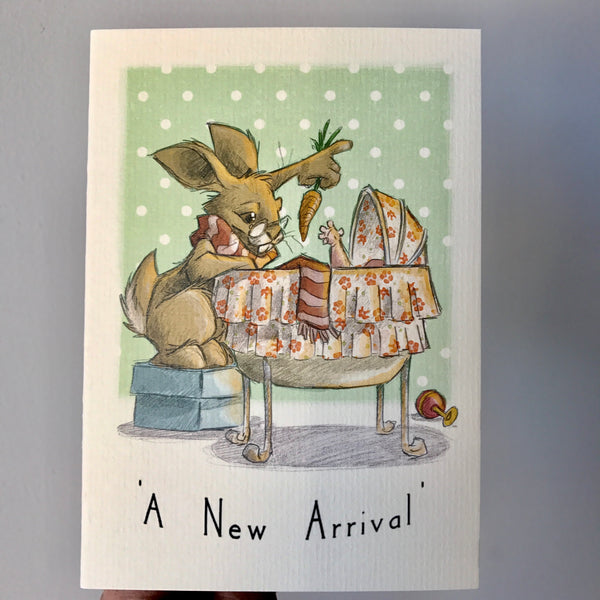 Greeting Card - A New Arrival