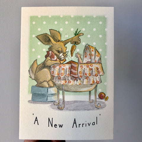 'A New Arrival' Card