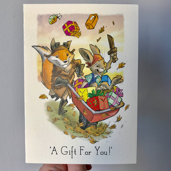 'A Gift For You!' Card