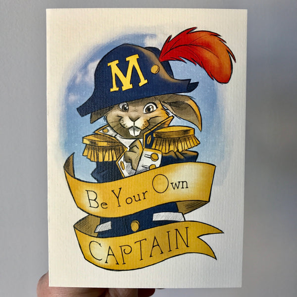 Greeting Card - Be Your Own Captain