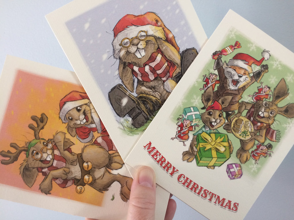 Greeting Cards - Christmas Cards Triple Pack