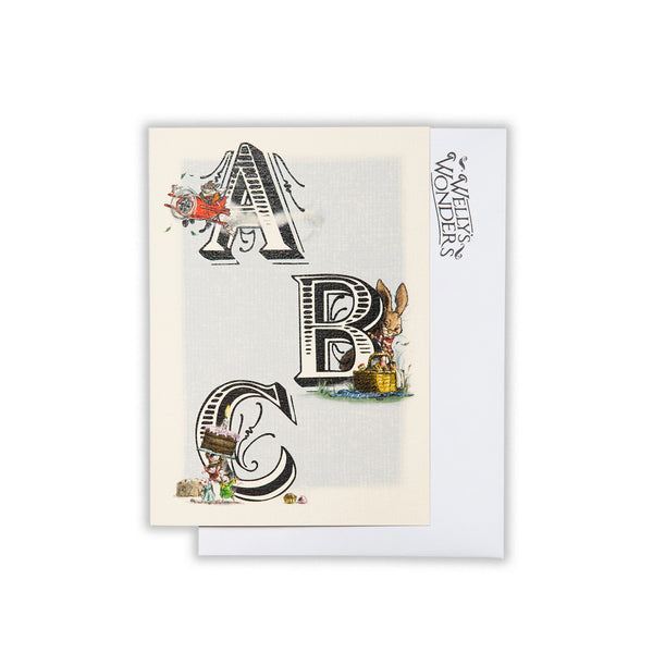 Greeting Card - ABC