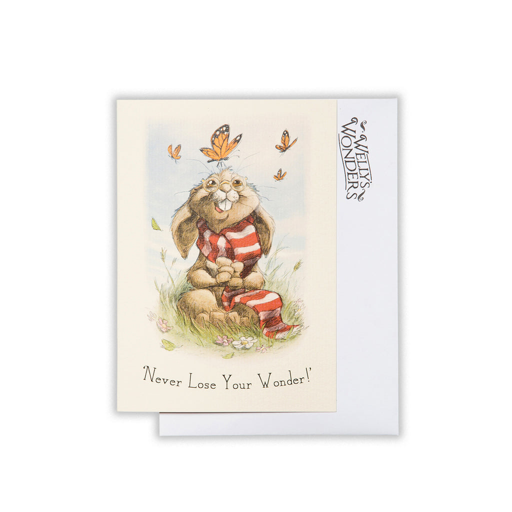 Greeting Card - Never Lose Your Wonder
