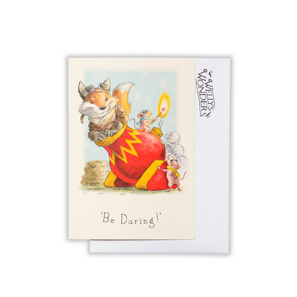 Greeting Card - Be Daring