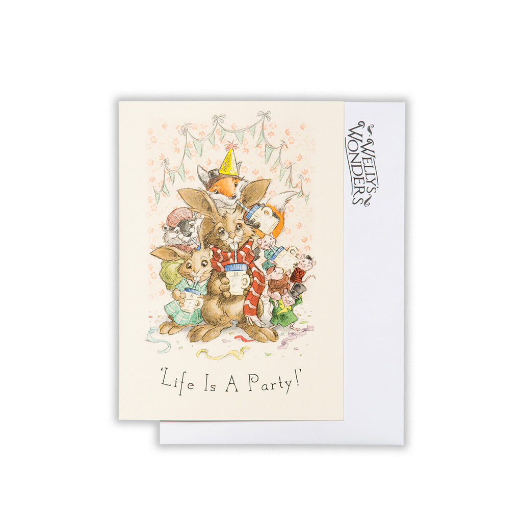 Greeting Card - Life Is A Party
